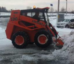 Механизированная уборка территорий от снега